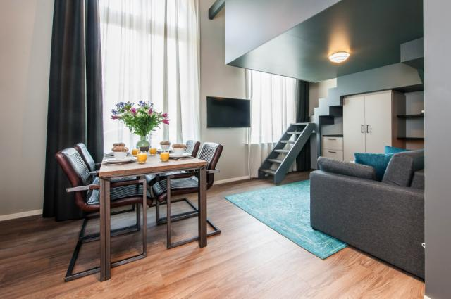 Yays Oostenburgergracht Duplex family studio Apartment